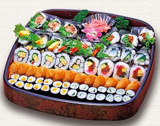 手巻寿司盛合せ