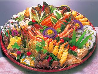鉢盛(巻寿司入)